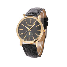 Women's watches and Unisex Leather Band Analog Quartz Vogue Wrist Watch Watches Relogio masculino feminino women