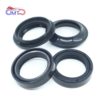 For Honda XL650 Transalp 2000-2007 XR500R 1983-1984 XR600R 1985-1989 XR650L 1993-2017 Front Fork Oil Seals Dust Wiper Kit Set image