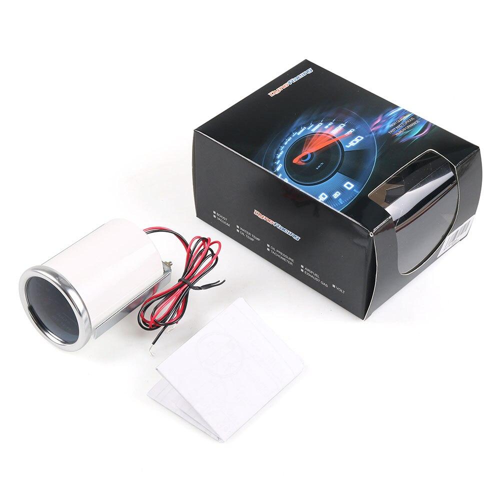 """Dynoracing вольтметр """"(52 мм) дымовая линза 8-18 вольт датчик напряжения автомобильный измеритель BX101232"""