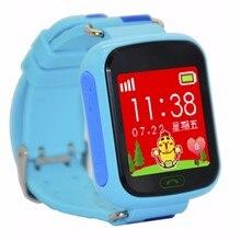 Freies verschiffen Aktualisiert GPS Tracker Kinder Smartwatch Wrist Sim Uhr-telefon anti-verlorene SOS WCDMA Kinder Armband Übergeordneten Steuerung
