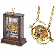 Noble collection Harry potter time turner Hermione granger rotating time turner