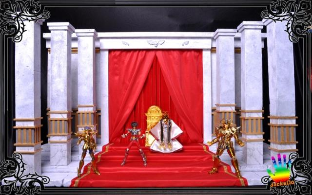 MODEL FANS JacksDo scene production - Pope Basilica of Saint seiya Cloth Myth EX gold dedicated sanctuary classic jacksdo sacred lands wicked chief of staff evil armies silver saint seiya cloth myth collectable