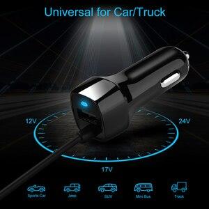 Image 3 - SeenDa Universale Caricabatteria Da Auto con Cavo Del Cellulare USB Fast Charger Per Samsung S9 S8 Più S6 S7 Bordo Plus Per iPhone 6 6 s 7 8