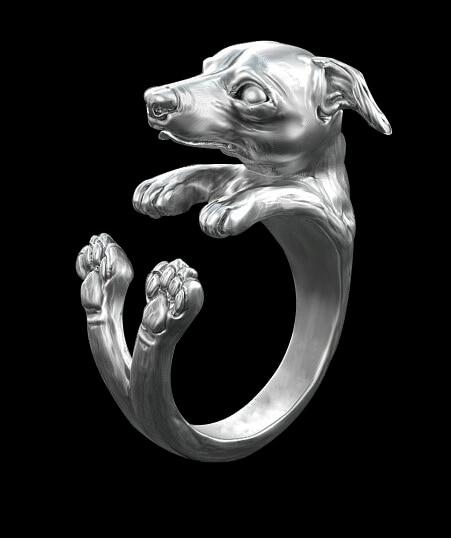 Купить 1 шт новинка оптовая продажа итальянское кольцо greyhound в