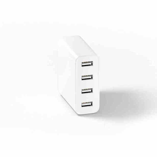 Original Xiaomi Mi USB Charger 4 Ports 5V 2.4A 35W Output Universal Quick Charging Hub 4 Slots Auto Detect Technology