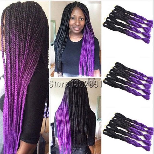 Purple Xpression Braiding Hair | Sbiroregon.