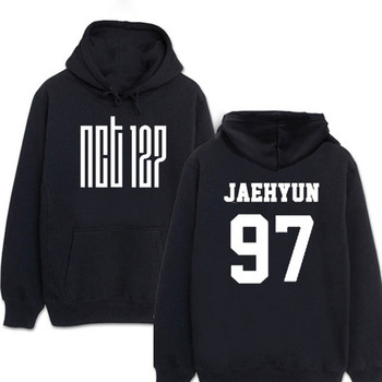 ONGSEONG Kpop NCT 127 NCT127 U Album Hoodie K POP Casual Cotton Hoodies Clothes Pullover Printed
