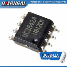 10PCS UC3842A UC3843A UC3843B UC3845B HJXRHGAL SOP IC novo e original