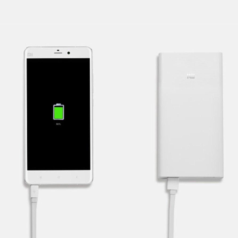 Xiaomi 20000 mAh batterie externe bidirectionnelle Charge rapide Charge rapide Ultra mince pour les téléphones mobiles Recharge rapide double USB numérique