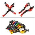 For Ducati 1098 1198 1199 899 Panigale Motorcycle Accessories CNC Folding Extendable Brake Clutch Levers Red Color Free shipping
