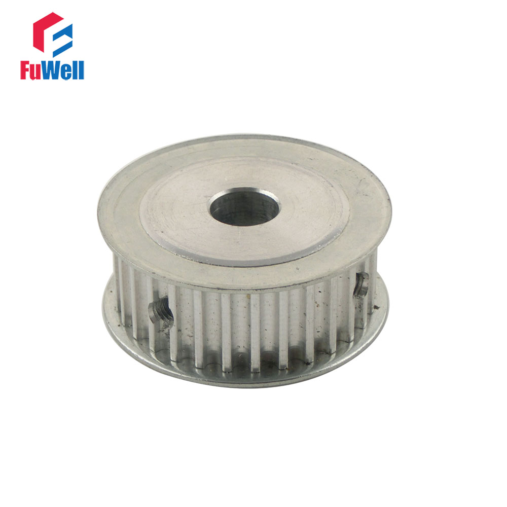 HTD5M 30T Timing Pulley Inner Bore 6/6.35/8/10/12/12.7/14/15/16/17/20mm 21mm Belt Width 5mm Pitch 30Teeth Timing Belt Pulley 2pcs htd5m 12t timing pulley 5 6 6 35 8 10mm inner bore 5mm pitch 21mm belt width 12teeth timing belt synchros pulleys