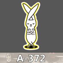 A-372 Kaninchen Wasserdicht Mode Kühle DIY Aufkleber Für Laptop Gepäck Skateboard Kühlschrank Auto Graffiti Cartoon Aufkleber