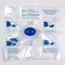 Medical First Aid CPR Resuscitation Mouth Mask Hygiene Emergency Rescue Face Shield Breathing Breath 10pcs/lot