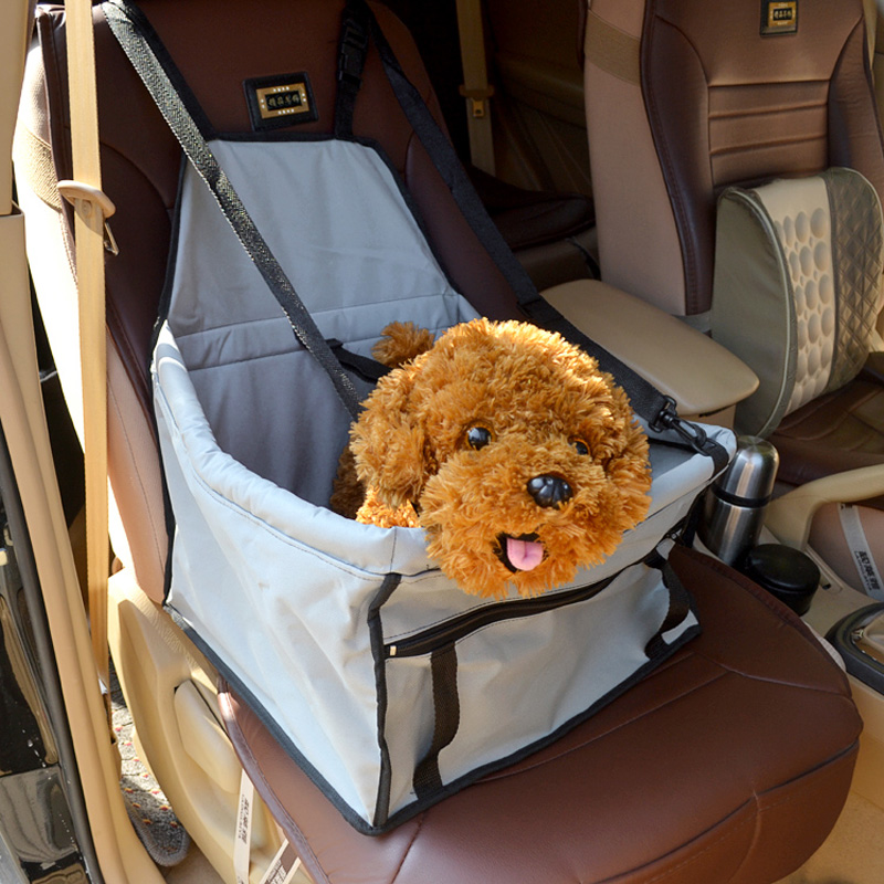 2017 600D Oxford Pet Dog Cat Car Seat Bag Carriers Small Animal Mat Blanket Safety Belt Cover Protector Waterproof In From Home