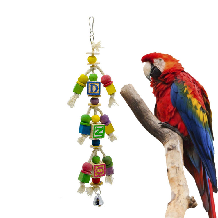 'NEW' Large  Macaw Parrot on Perch  Ornament