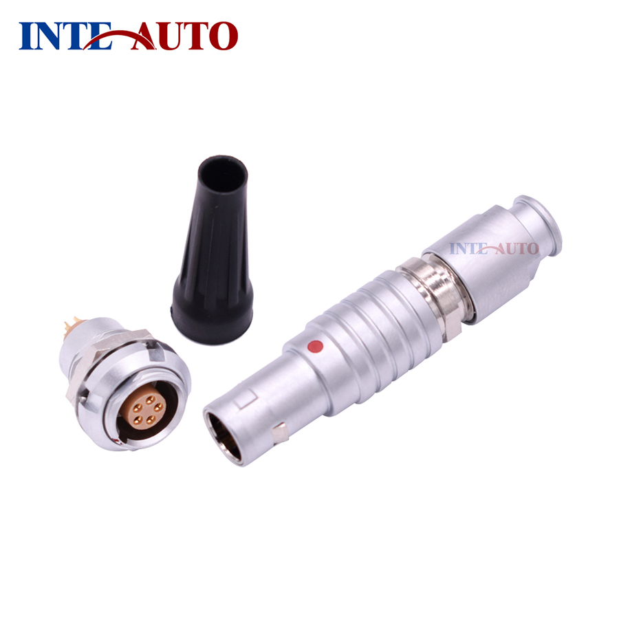 1B Series Connector,Substitute 1B series M12 size, 2,3,4,5,6,7,8,9,10,14 pins, Metal electrical male female connector,FGG ECG1B Series Connector,Substitute 1B series M12 size, 2,3,4,5,6,7,8,9,10,14 pins, Metal electrical male female connector,FGG ECG