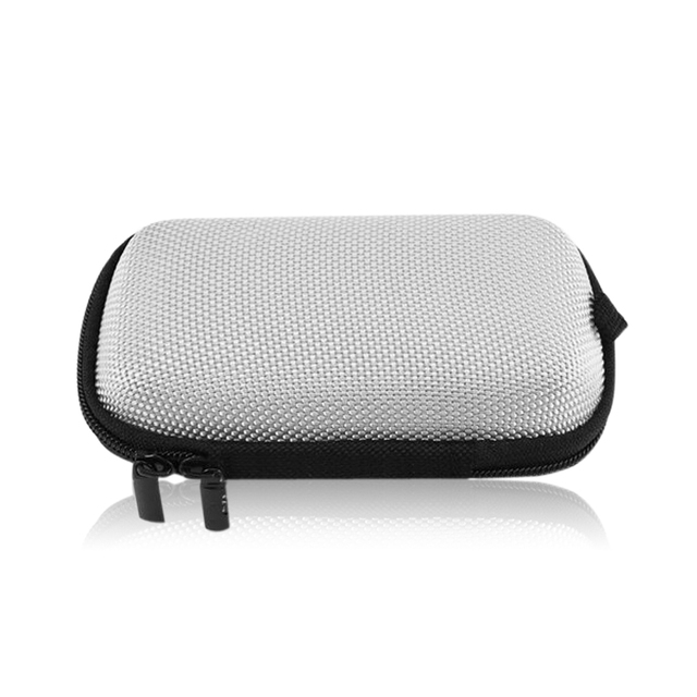1pcs Portable Travel Case Elliptical EVA Storage Cases Headphone Case for USB Chargers Cables Headphone Cable Mp3 Mp4