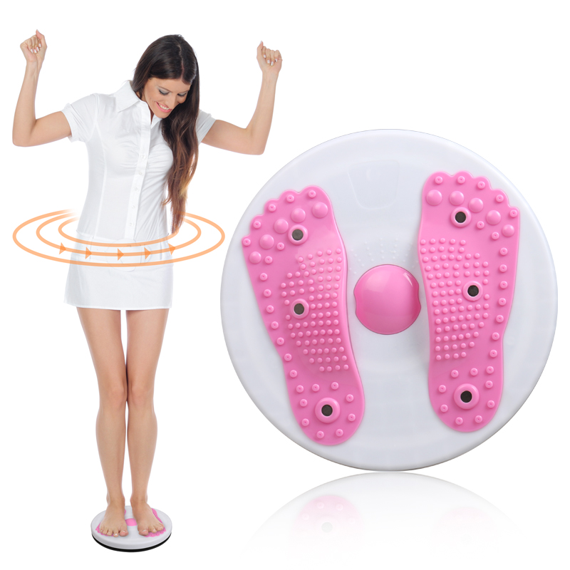 magnet waist wringgling plate fitness twist disk Large twister device foot massager machine slimming women's home sports tool