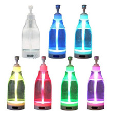 Soap Brite LED Glowing liquid soap bottle Hand sanitizer dispenser sensor night light portable