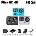Original EKEN H8S Ultra HD 4 K wifi Action Camera Ambarella A12 chip de 2.0 'Tela Ir Debaixo D' Água Esporte Cam 1080 P Tela Dupla Pro Sj