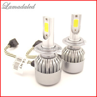 2pcs All In One Led H7 COB Chip 36W 3800LM Car LED Headlight Kit Canbus No