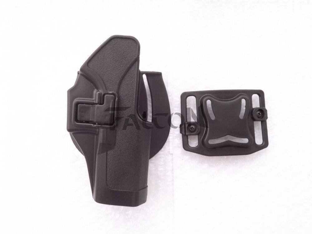 Nueva Táctica Blackhawk CQC Airsoft Pistola Pistolera glock17 18 19 23 + Caza Pi