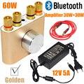 2017 Nuevo F900 Mini Amplificador de Auriculares Bluetooth Estéreo de Alta Fidelidad de Audio AMPLIFICADOR de Potencia 30 W + 30 W Con Adaptador De Energía ENVÍO SHIPPING-10000693