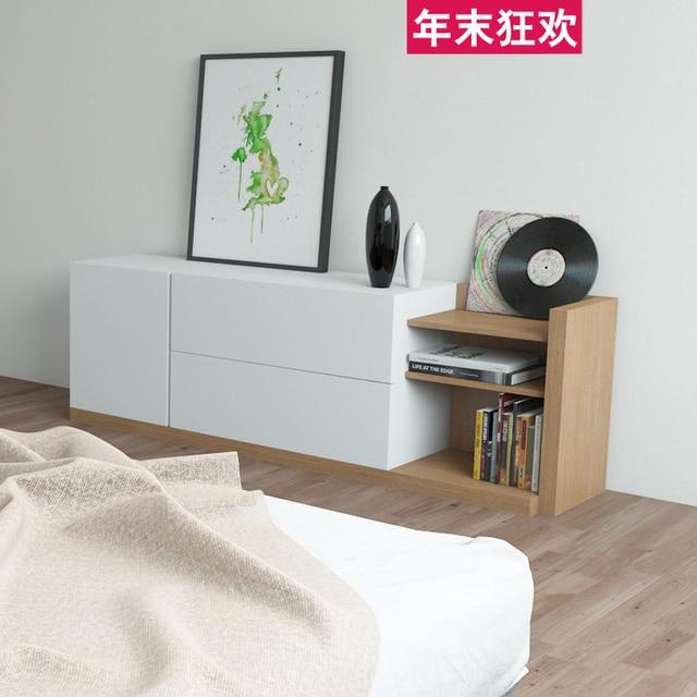 Telescopic Combination Living Room TV Cabinet Modern Minimalist Beijing Jooo Dublin Paint The Bedroom