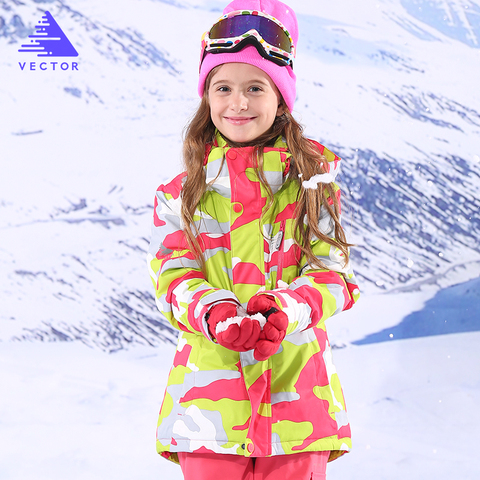 Girl Ski Jackets Winter Outdoor Children Clothing Kids Waterproof Windproof Ski Jackets Warm Skiing Jackets For Girls Islamabad