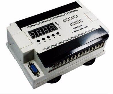 Free Ship 40MT 2DA 3AD China PLC industrial control board programmable control 40MT digital tube|LED|AD/DA|Stepping|encoder PLC