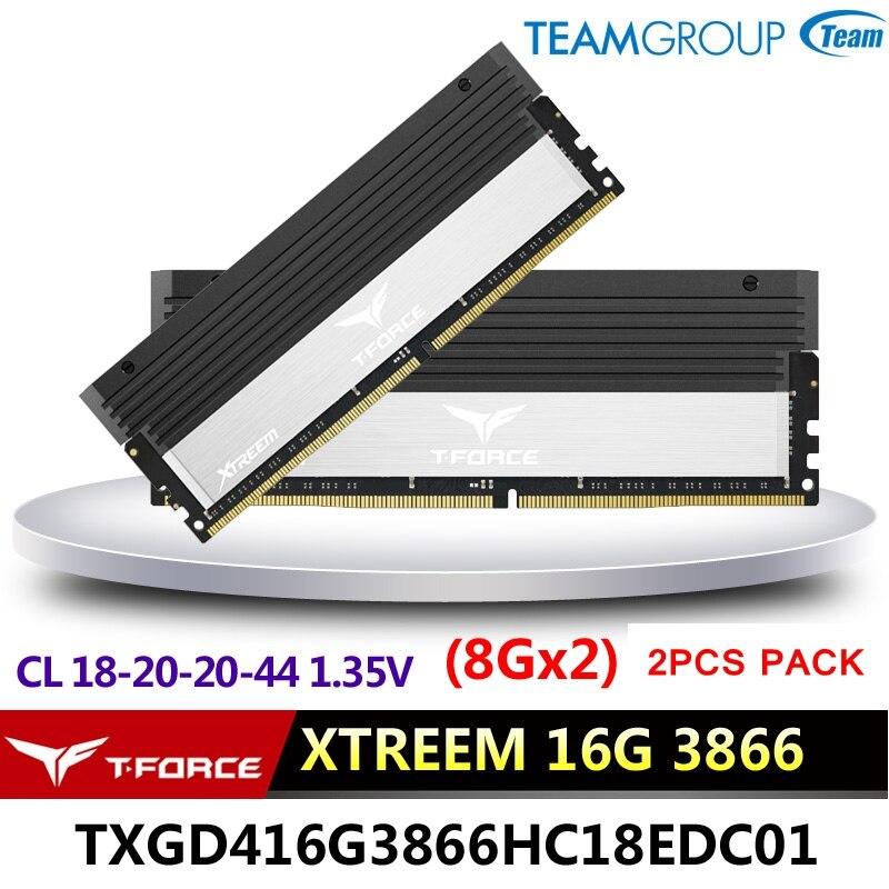 Team Group Vulcan 4GB DDR4 2400 Memory Module RAM CL 14-16-16-31