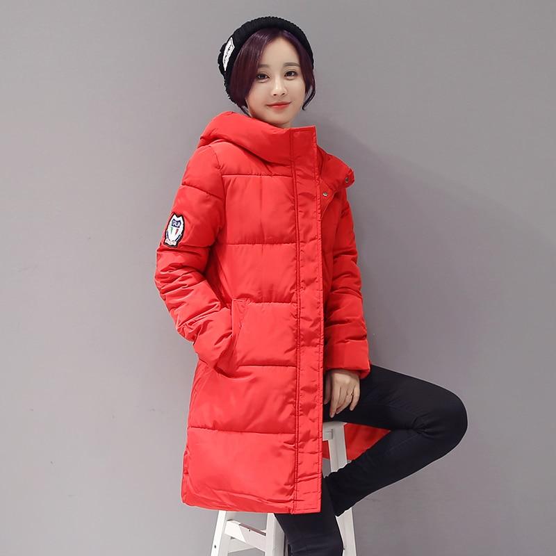 ФОТО New Promotion Winter/Spring Jacket Women Coat Parka Slim Jacket 2017 Fashio Brand Design Female Winter Coat Parka Plus Size