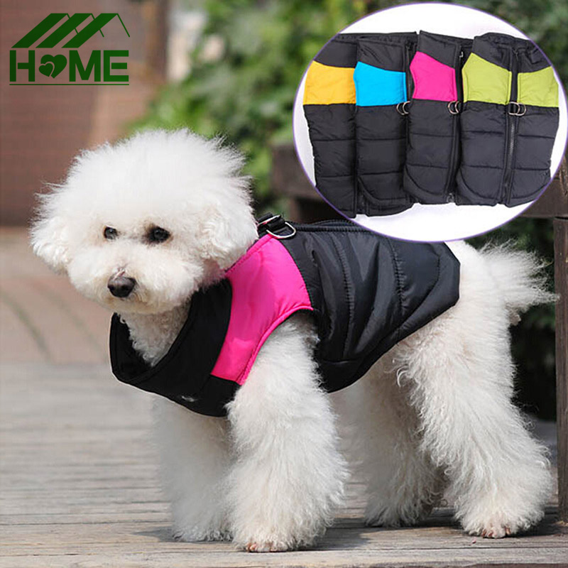 Winter Pet Dog Clothes Coat Jacket Vest Clothing Fashion Waterproof Suit Costume For Puppy Chihuahua Small Large Pets Dogs