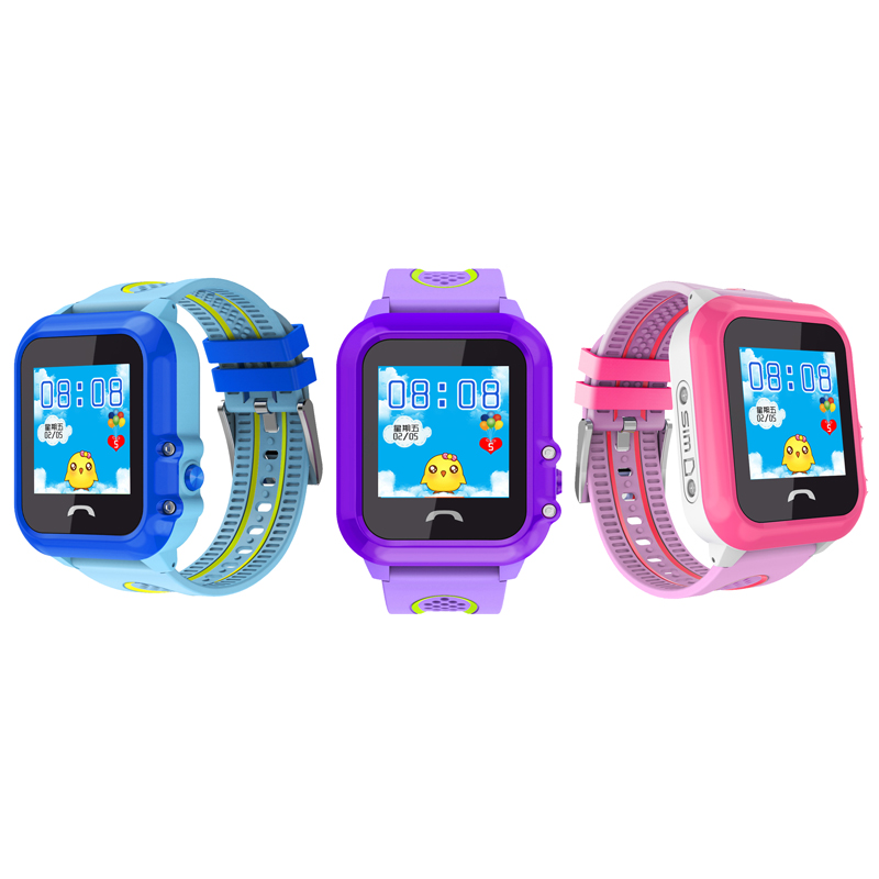 696 DF27 GPS IP67 Waterproof Kids Smart Watch Tracker SOS Call Phone Baby Safe