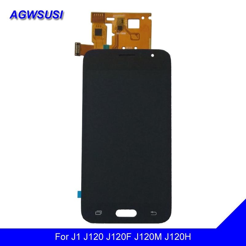 4.5 For Samsung Galaxy J1 2016 J120 SM J120F J120M J120H J120G Touch Screen Digitizer Sensor + LCD Display Monitor Assembly