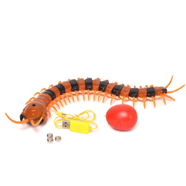 New Scary R/C Simulation Centipede With Remote Controller Kids Toy Gift  educational toys for children A1