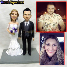 561 porcelain wedding cake toppers topper humor deer soccer baby mini doll mr and mrs polymer clay dogs