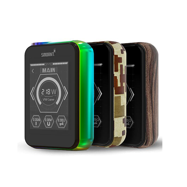Big Smoant Charon 218W TS TC Box Mod Screen Lock Function Brightness Adjustment Smoant Charon TS