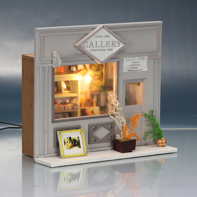Handmade Doll House Furniture Miniatura Diy Doll Houses Miniature Dollhouse Wooden Toys For Children Grownups Birthday Gift 5810