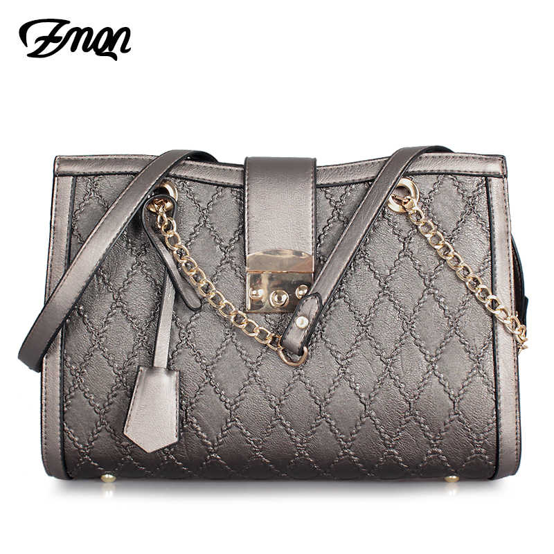 2ede837163 ZMQN Luxury Handbags Women Bags Designer Ladies Hand Bags Female Leather  Famous Brand Chain Bag for