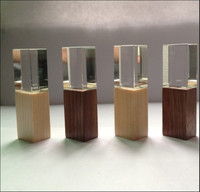 New Wooden Crystal USB 2 0 Interface Memory Flash Stick Pen Drive Over 15 Pcs Free