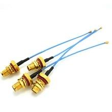 2 ШТ. ufl. ipx для SMA женский переборок кольцевым косички кабеля 1.37 мм 15 см для МИНИ PCI #2