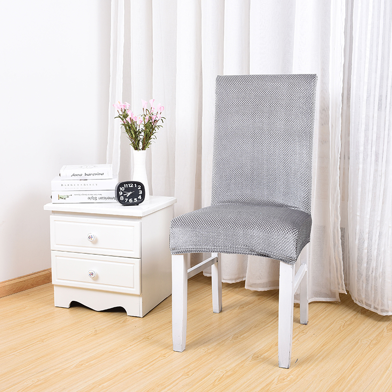 Fashion Silver Grey Dining Room Chair Slipcover Cheap Chair Covers