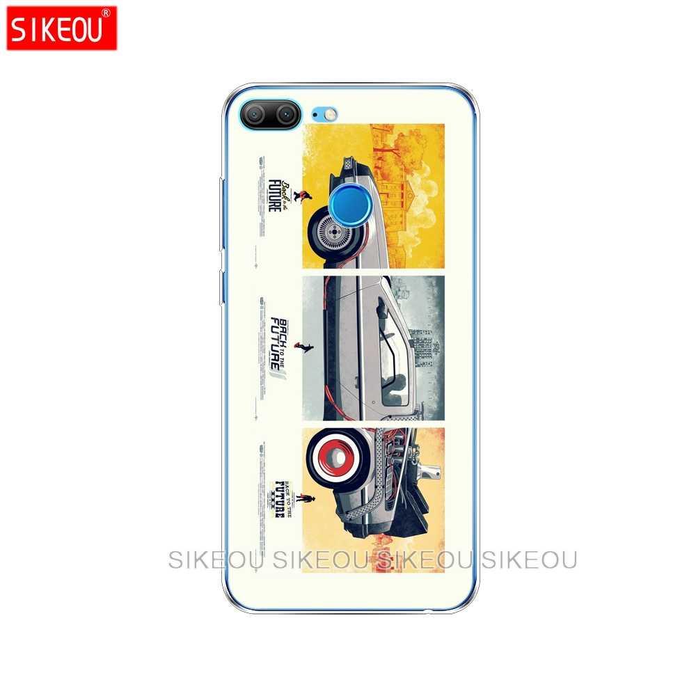 Silicon Cover phone Case voor Huawei Honor 10 V10 3c 4C 5c 5x 4A6A6C pro 6X7X6 7 8 9 LITE Back de Toekomst DeLorean Tijd Machine