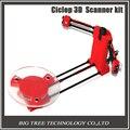 Shiping libre Ciclop DIY 3D tridimensional escáner adaptador placa de piezas de maquinaria de precisión Para piezas de la impresora 3D