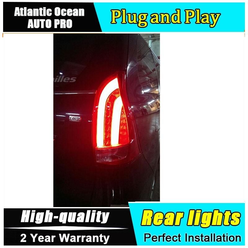Стайлинга автомобилей из светодиодов хвост лампы задние фонари для Тойота avanza 2014 на тазик задний свет туман свет 1 пара 4шт