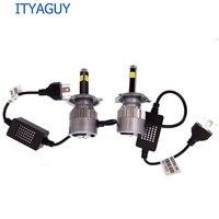 2pcs Car LED Headlight C6 4 SIDE H1 H3 H7 H8 H9 H11 9005 9006 880