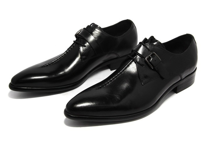 Genuine Leather Pointed Toe Shoes 3