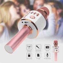 무선 노래방 마이크 매직 에코 보이스 체인저 스피커 Mobiles Studio 비디오 녹화 용 Mikrofon Condenser Professional