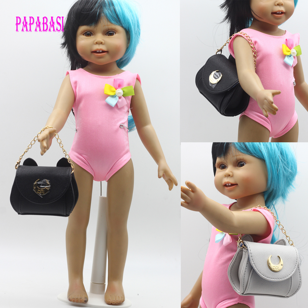 1PCS Fashion Handbag Fit For 18  American Girl, Dolls Accessoires